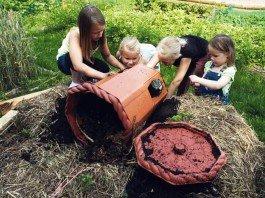 Permacultura e giardino foresta nelle scuole