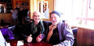 John Button e Bill Mollison. Stanley, Australia 2015