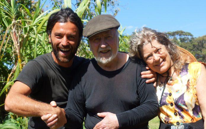 Ignazio Schettini, Bill Mollison, Lisa Mollison permacultura