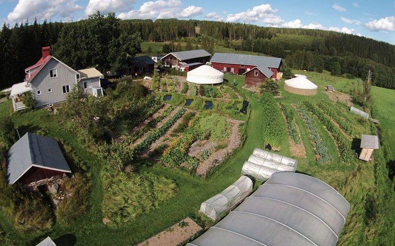 permacultura in Svezia
