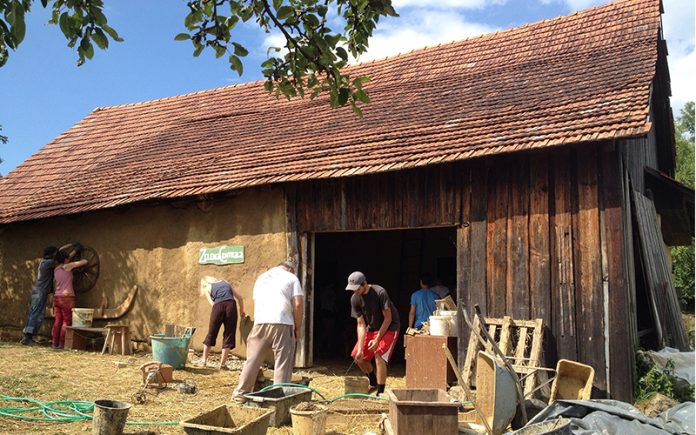 Casa paglia permacultura