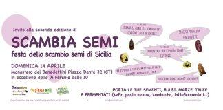 Scambia Semi, festa dello scambio semi di Sicilia