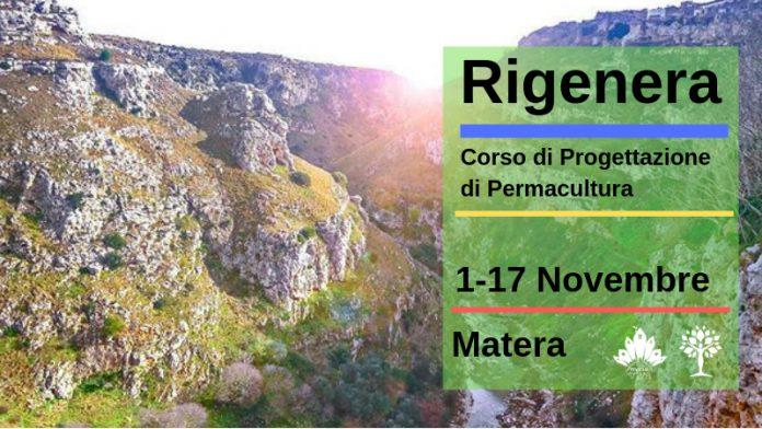 Rigenera corso permacultura Matera
