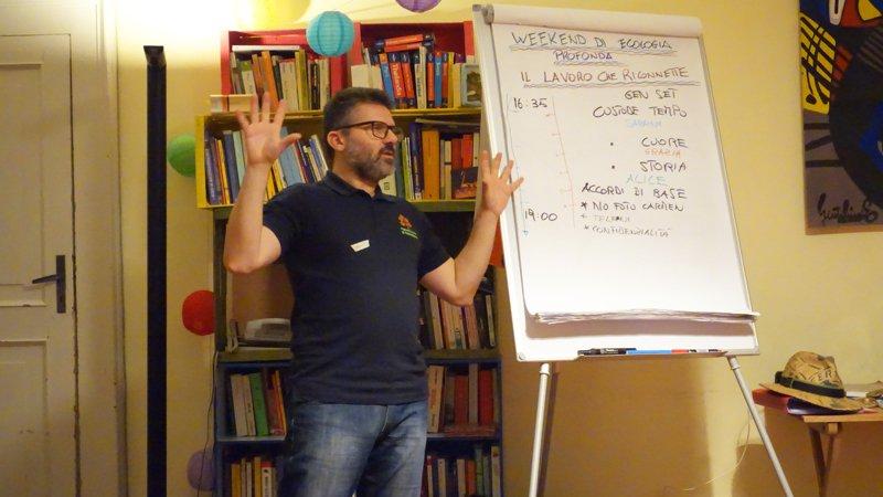 Marco Matera, facilitatore e docente in permacultura