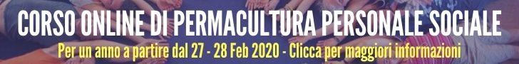 Corso online di Permacultura Personale e Sociale 2021